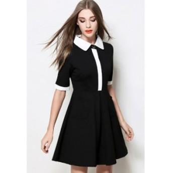 エレガントな レトロデザインで魅力を引出す ワンピース ドレス