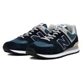 ニューバランス NEW BALANCE ML574 ランニングシューズ [サイズ:24.5cm(D)] [カラー:ダークネイビー] #ML574ESS 靴