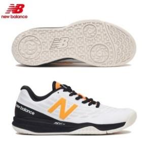 ニューバランス レディース テニスシューズWCO796K1D WCO796V1 WHITE/MANGO