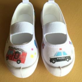 デコパージュ上靴【クルマ】