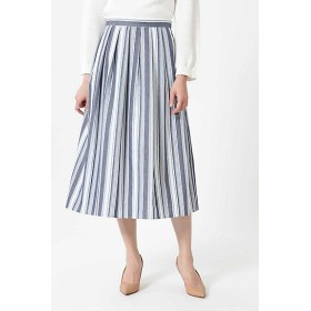 NATURAL BEAUTY ランダムストライプスカート