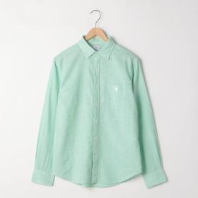 [マルイ]【セール】綿麻ハケメレギュラーカラーシャツ/コーエン(メンズ)(coen)