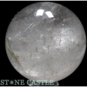 ☆置石一点物☆【天然石 置き石】丸玉 水晶 約101mm No.20