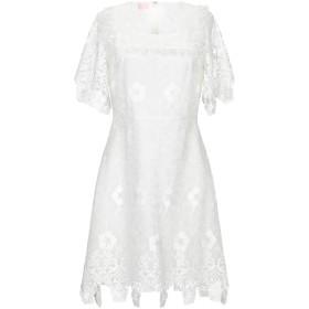 《セール開催中》GIAMBA レディース ミニワンピース&ドレス ホワイト S レーヨン 100% / シルク
