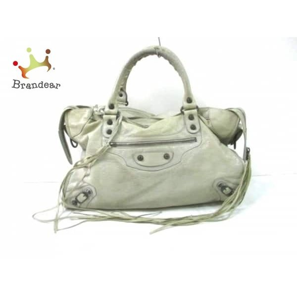 new product 9f803 5721c BALENCIAGA 204526 ベージュ 【中古】 (バレンシアガ ...