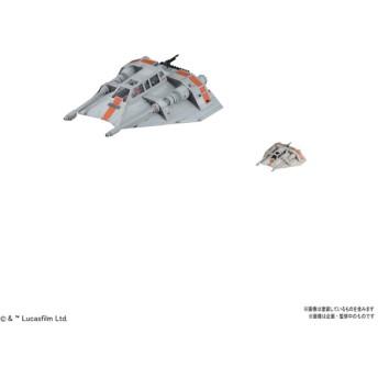 スターウォーズ プラモデル 1/48 & 1/144 スノースピーダーセット 4549660177340