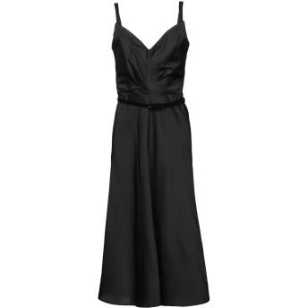 《9/20まで! 限定セール開催中》ISABEL GARCIA レディース 7分丈ワンピース・ドレス ブラック XS ポリエステル 100%