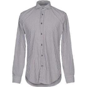 《期間限定セール開催中!》MAURO GRIFONI メンズ シャツ ブラック 41 コットン 100%