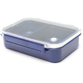 HOME COORDY 保存容器にも使える弁当箱630ml ホームコーディ ネイビー
