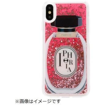 iPhone XS Max TPUケース Perfume Round Rose