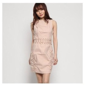 ゲス GUESS MIRANDA LACE-UP DRESS (RUGBY TAN)