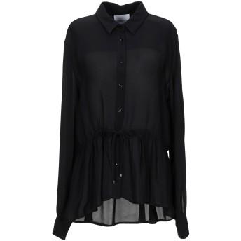 《セール開催中》ANNARITA N TWENTY 4H レディース シャツ ブラック 42 レーヨン 100%