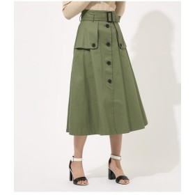 AZUL BY MOUSSY アズールバイマウジー TRENCH FLARE SKIRT レディース