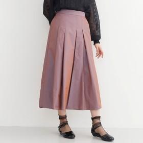 [マルイ]【セール】【plus】偏光沢ボックスタックフレアスカート/メルロープラス(merlotPLUS)