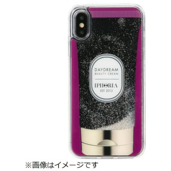 iPhone X/XS TPUケース Handcream Purple Stars