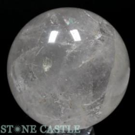 ☆置石一点物☆【天然石 置き石】丸玉 水晶 約109mm No.18