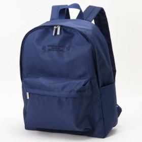 バッグ カバン 鞄 レディース リュック 撥水デイパック カラー 「ネイビー」