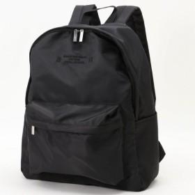バッグ カバン 鞄 レディース リュック 撥水デイパック カラー 「ブラック」
