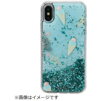 iPhone X/XS TPUケース Ice Cream Mint