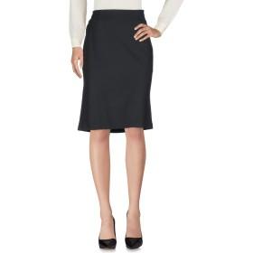 《期間限定 セール開催中》MOSCHINO レディース ひざ丈スカート ブラック 44 ポリエステル 52% / ウール 43% / ポリウレタン 5%