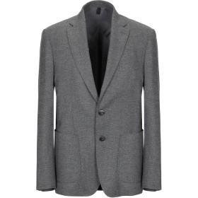 《期間限定セール開催中!》DOMENICO TAGLIENTE メンズ テーラードジャケット 鉛色 46 ポリエステル 54% / レーヨン 44% / ポリウレタン 2%
