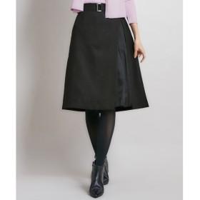 [マルイ]【セール】【洗える】ウールライクツイル スカート/組曲(KUMIKYOKU)