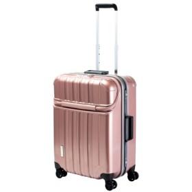 【TRAVELIST(トラベリスト)】トップオープンフレームキャリー トラストップS【5-7泊対応】 ピンク