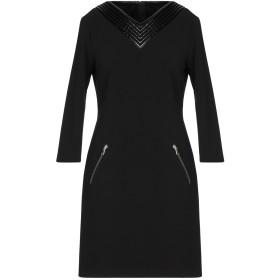 《期間限定 セール開催中》MOSCHINO レディース ミニワンピース&ドレス ブラック 42 ポリエステル 89% / ポリウレタン 11%