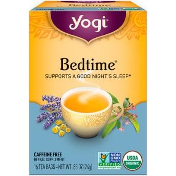 ベッドタイム, カフェインフリー, 16ティーバッグ, 0.85oz(24 g)
