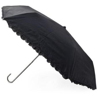SHOO・LA・RUE / シューラルー 【晴雨兼用】because フリルミニ折りたたみ傘