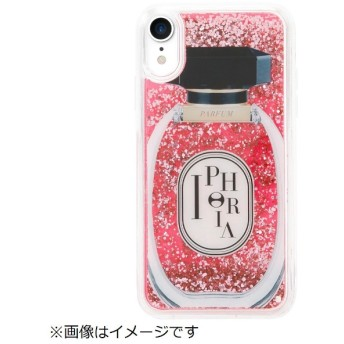 iPhone XR TPUケース Perfume Round Rose