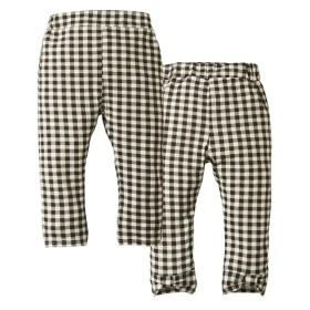 伸びる♪裾リボン風7分丈レギンスパンツ(女の子 子供服) パンツ