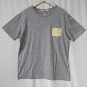 洗える本革(鹿革)BIG Tシャツ