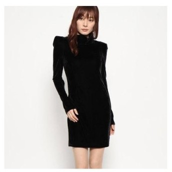 ゲス GUESS OLGA DRESS (JET BLACK)