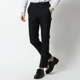 パンツ メンズ ズボン メンズ メガストレッチバックシャーリングノータックパンツ【M〜LL】 「ネイビー」