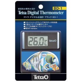 テトラ デジタル水温計ブラック BD 1