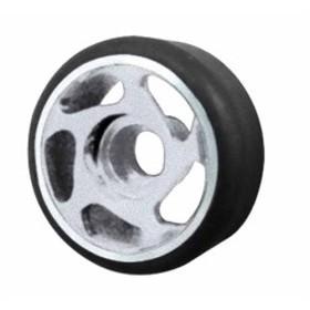 サイクロン・ホイル F10mm R11.5mm[SI]40度タイヤ付 (4) :MR01 1582-SI