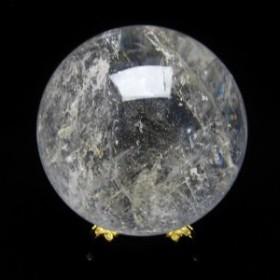 水晶 丸玉 スフィア 虹入り 74mm [送料無料] 151-781