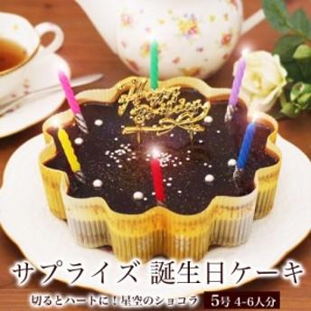 誕生日ケーキ 星空のショコラ5号 本州 送料無料 チョコ バースデーケーキ 誕生日プレゼント 即日 配送 翌日 ギフト 子供 女性
