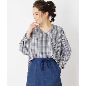 SHOO・LA・RUE/Cutie Blonde(シューラルー) 袖タックスキッパーシャツ