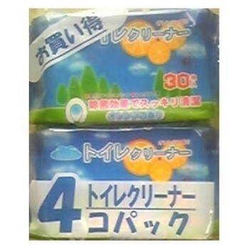 昭和紙工 オアシストイレクリーナー4P 代引不可