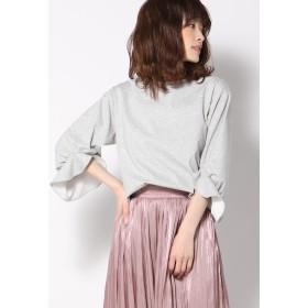 Ketty Cherie LIGHTポンチフリルスリーブプルオーバー Tシャツ・カットソー,ライトグレー