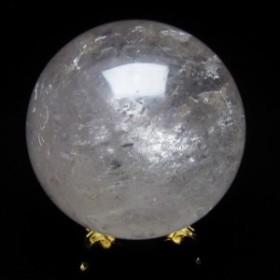 水晶 丸玉 スフィア 虹入り 73mm  151-853
