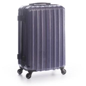 スーツケース ハードキャリー 60L カーボンネイビー ADY-1902-24 [TSAロック搭載]