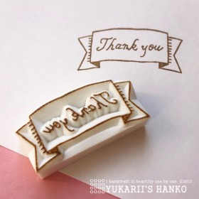 Thank youはんこ(TY-001)