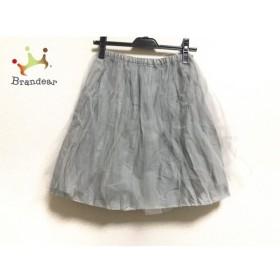 ビリティス Bilitis スカート サイズ36 S レディース 美品 グレー チュール     スペシャル特価 20191030