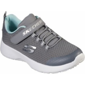 Skechers(スケッチャーズ) Skechers DYNAMIGHT-RALLY RACER カジュアル シューズ 81301L-GRY ジュニア
