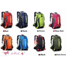 デイパック メンズ 登山リュックサック 人気 軽量 リュック ナイロン アウトドア バッグ 旅行 スポーツ 鞄 40L大容量 ハイ バックパック