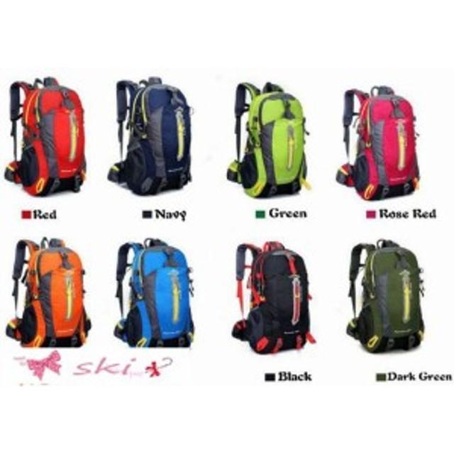 793c3a8fec95 デイパック メンズ 登山リュックサック 人気 軽量 リュック ナイロン アウトドア バッグ 旅行 スポーツ 鞄 40L大