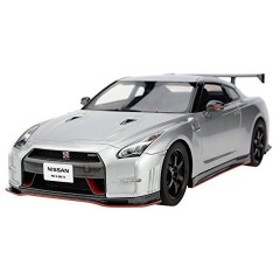 FRONTIART 1/18 GT-R nismo N'attack package 銀 完成品